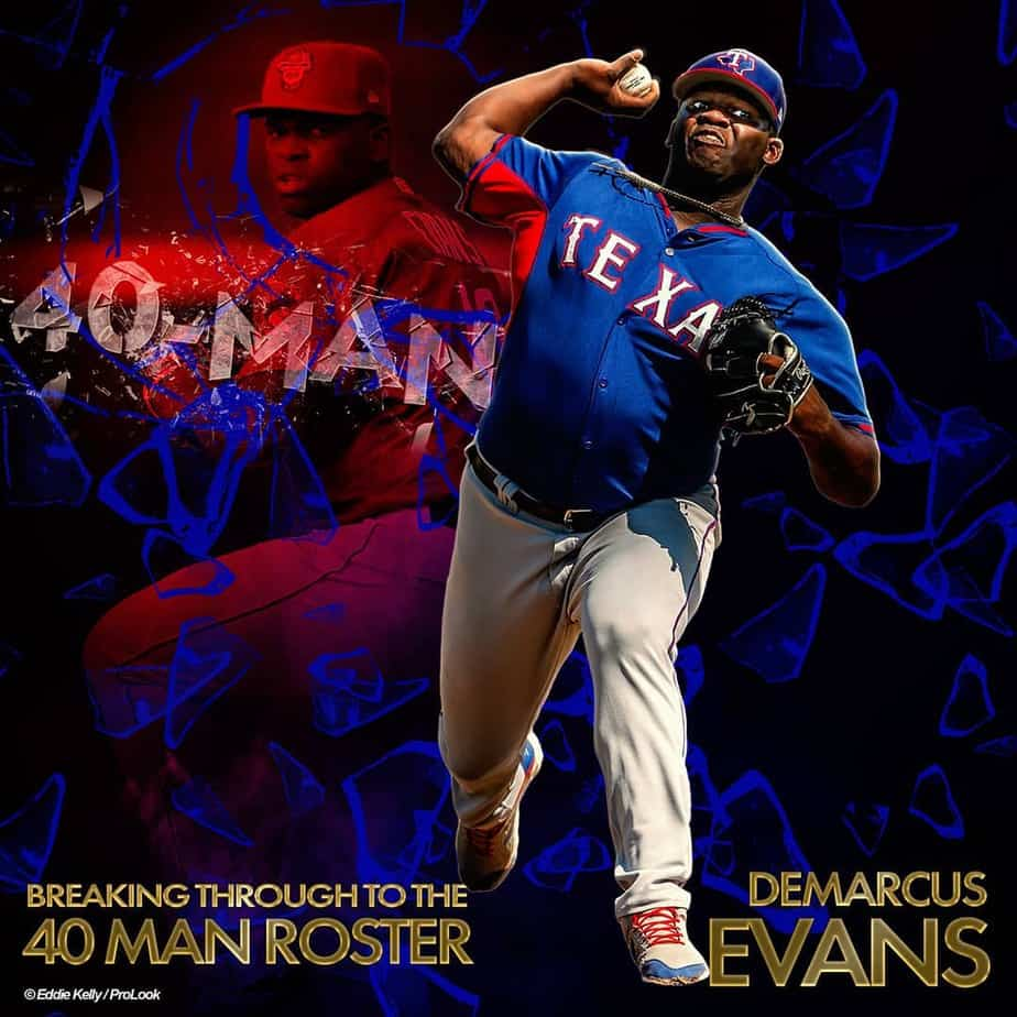 DeMarcus Evans finally gets the call, Rangers roster updates.