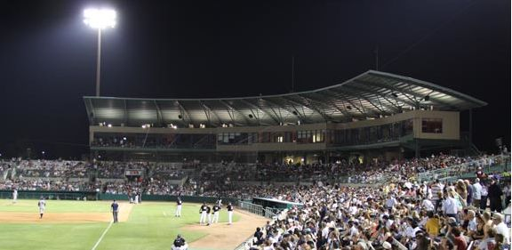 Nelson Wolff Stadium where the San Antonio Missions play baseball.