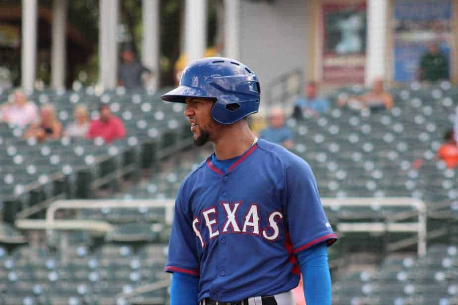 Leody Taveras made the Rangers opening day roster.