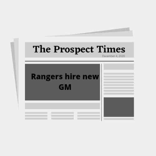 The Texas Rangers new GM is….Chris Young