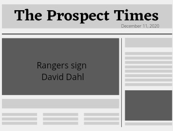 Rangers signed Outfielder David Dahl to one year deal