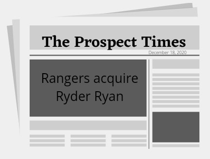 Rangers acquire Ryder Ryan from the Mets