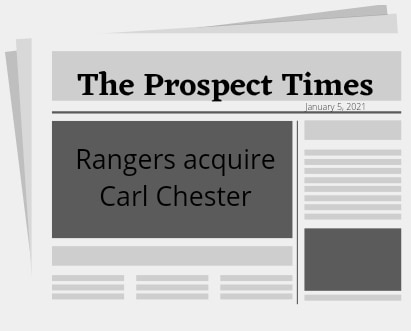 Rangers acquire Carl Chester from Rays as the PTBNL